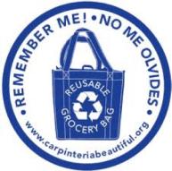 reusable bag logo
