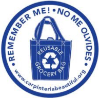 reusable bag logo