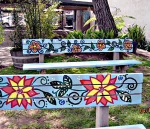 BusBenchPainting-April2010
